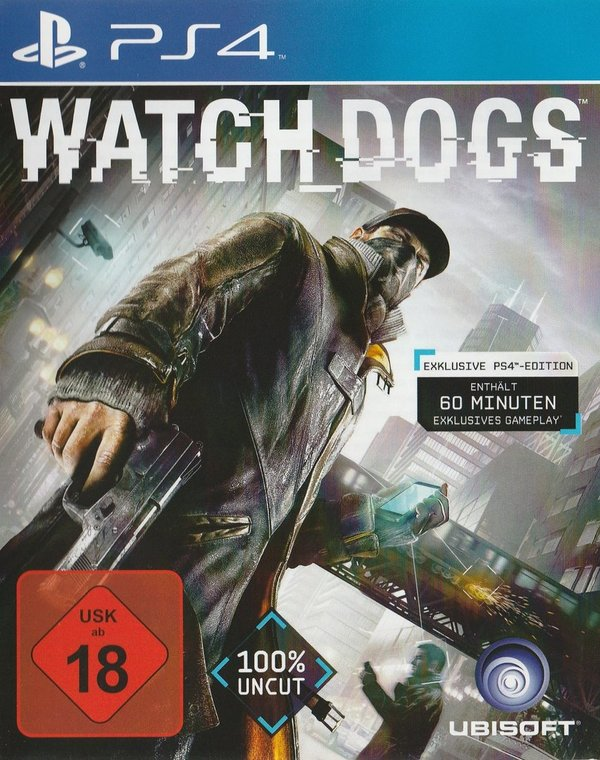 Watch Dogs, PS4