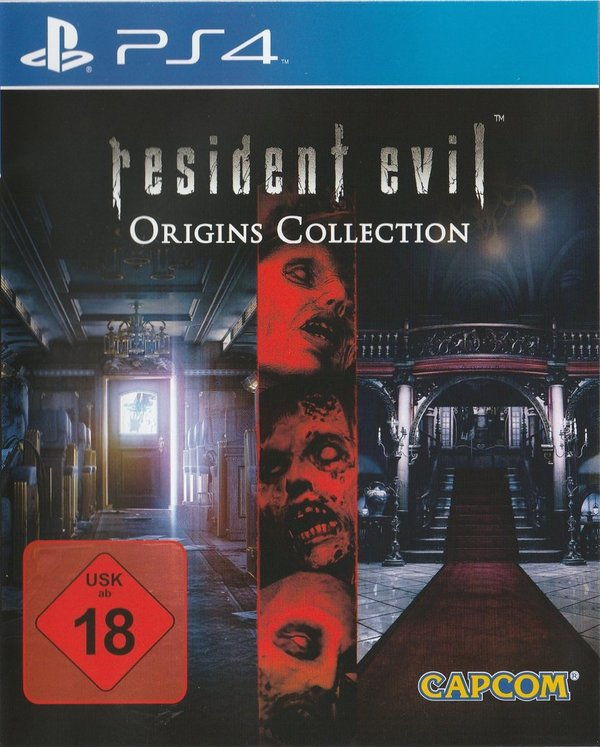 Resident Evil, Origins Collection, PS4
