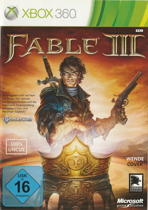Fable 3, XBox 360
