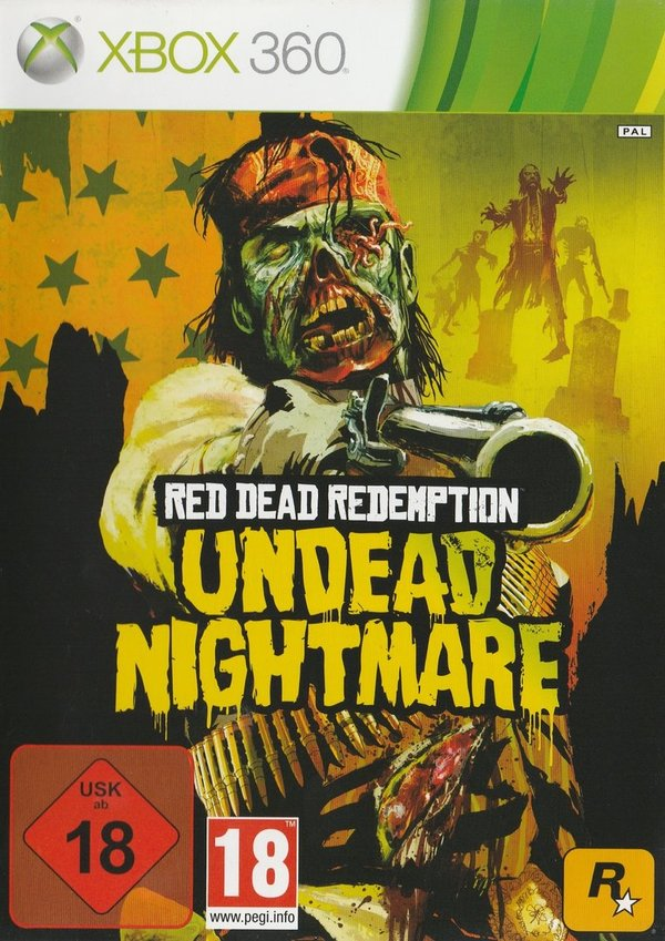 Red Dead Redemption, Undead Nightmare, XBox 360 (PEGI)