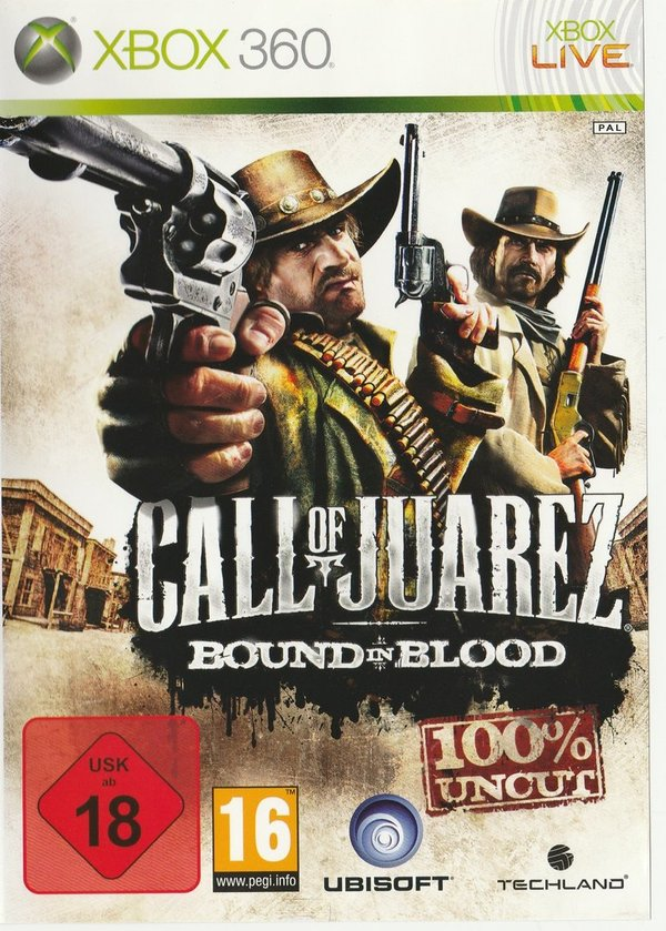Call of Juarez, Bound in Blood, XBox 360