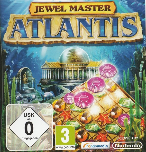 Jewel Master, Atlantis, Nintendo DS