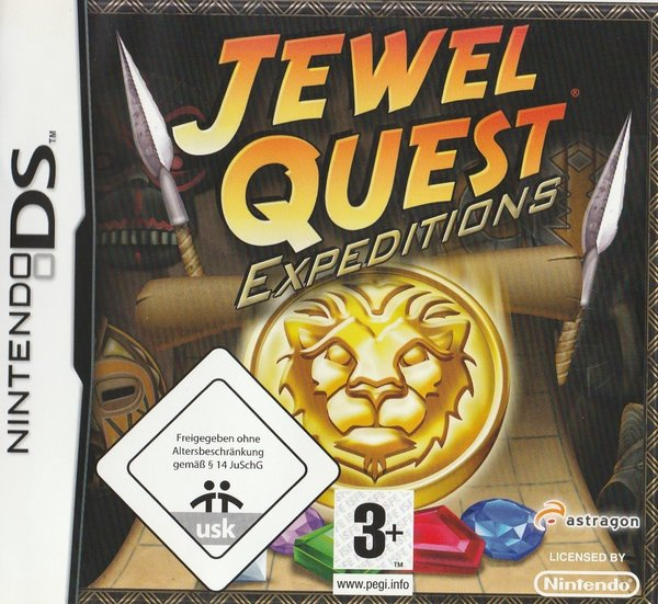 Jewel Quest, Expeditions, Nintendo DS