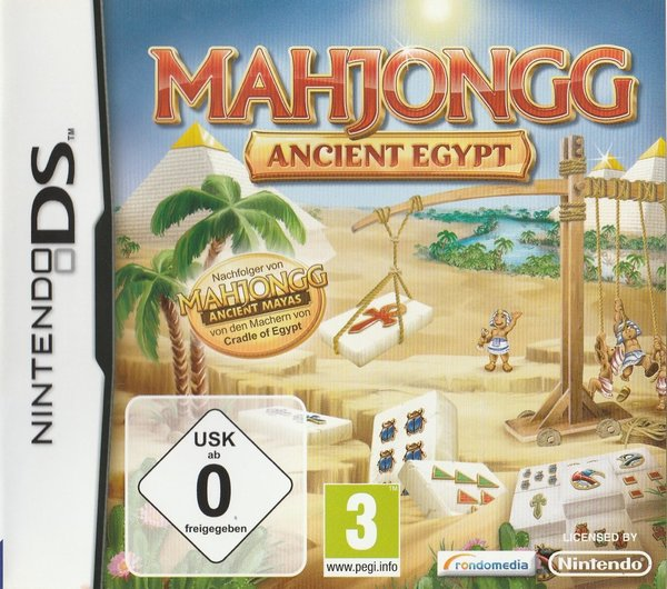 Mahjongg, Ancient Egypt, Nintendo DS