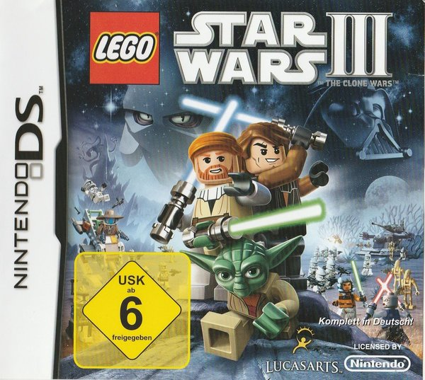 LEGO Star Wars III, Nintendo DS