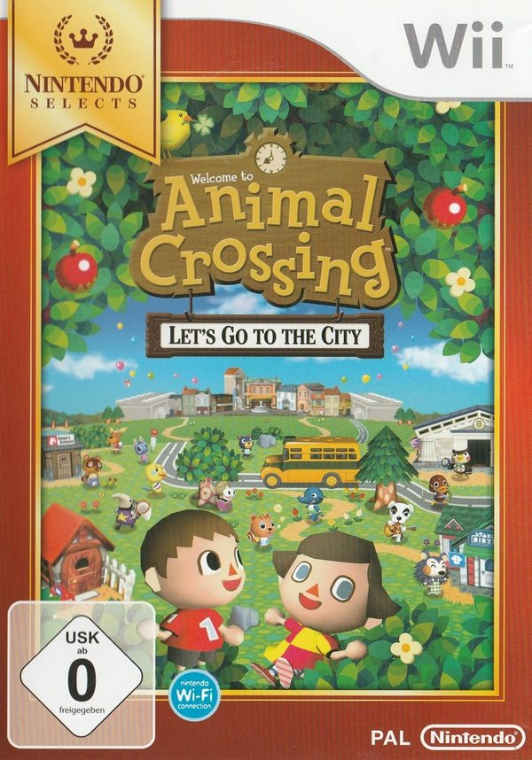Animal Crossing, Let`s Go to the City, Nintendo Wii