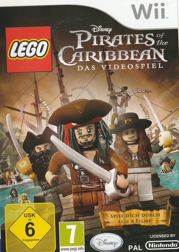 LEGO, Pirates of the Caribbean, Nintendo Wii