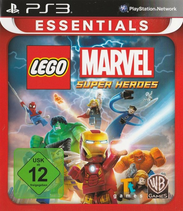 LEGO, Marvel, Super Heroes, PS3