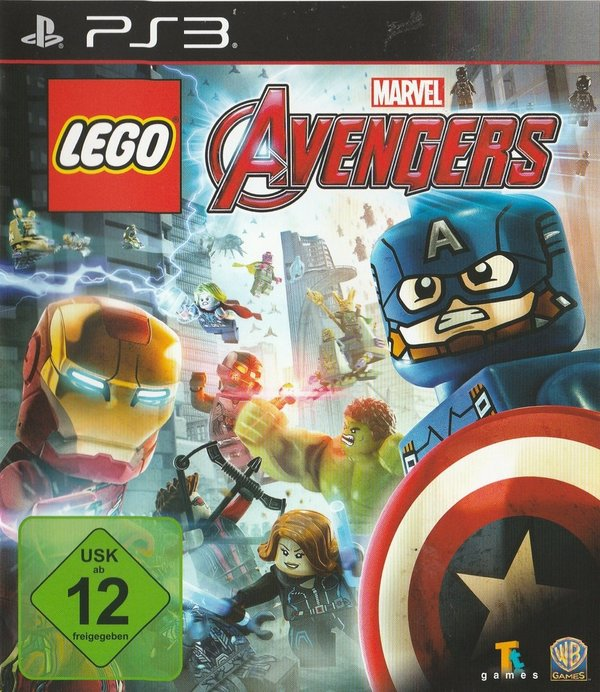 LEGO, Marvel, Avengers, PS3