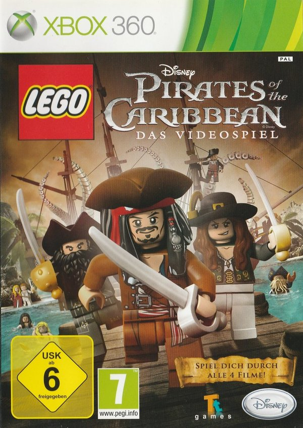LEGO Pirates of the Caribbean, XBox 360