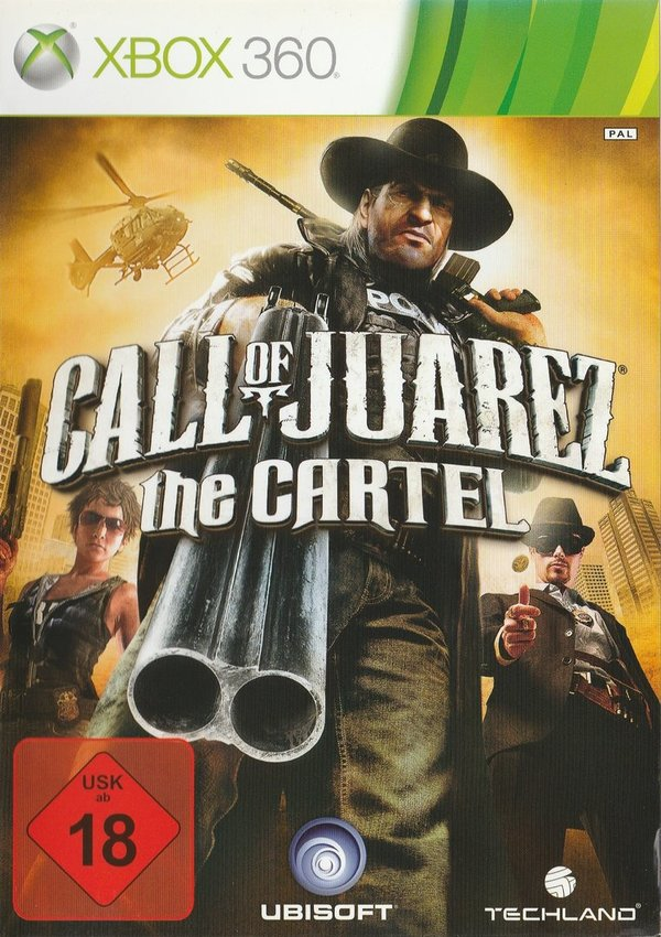 Call of Juarez, The Cartel, XBox 360 / in Verrechnung