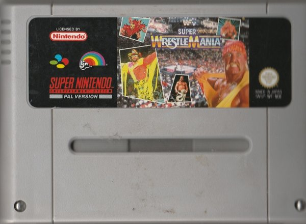 Super Wrestlemania, SNES ( das Modul ) / in Verrechnung