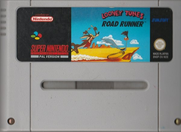 Looney Tunes Road Runner, SNES, ( das Modul )