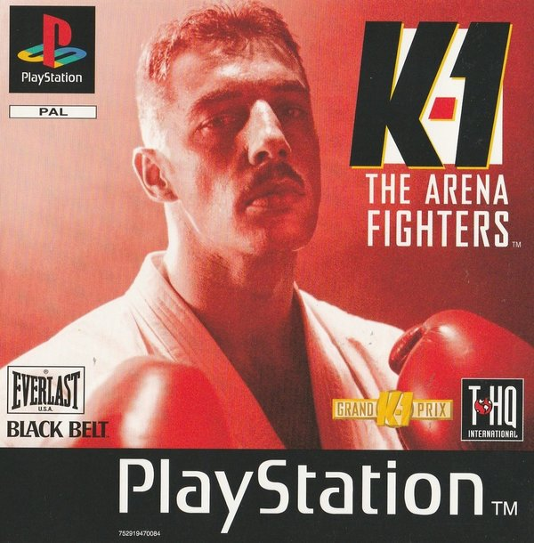 K-1 The Arena Fighters, PS1