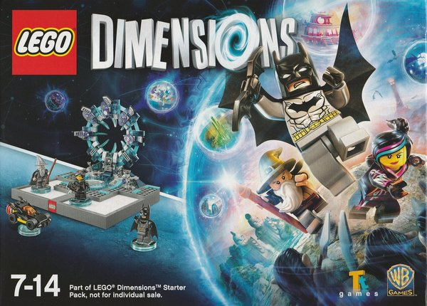 LEGO, Dimensions, Starter Pack, XBox 360