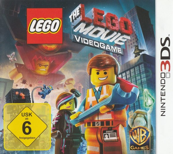 The Lego Movie, Videogame, Nintendo 3DS