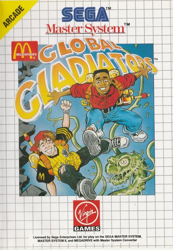 Global Gladiators, SEGA Master System