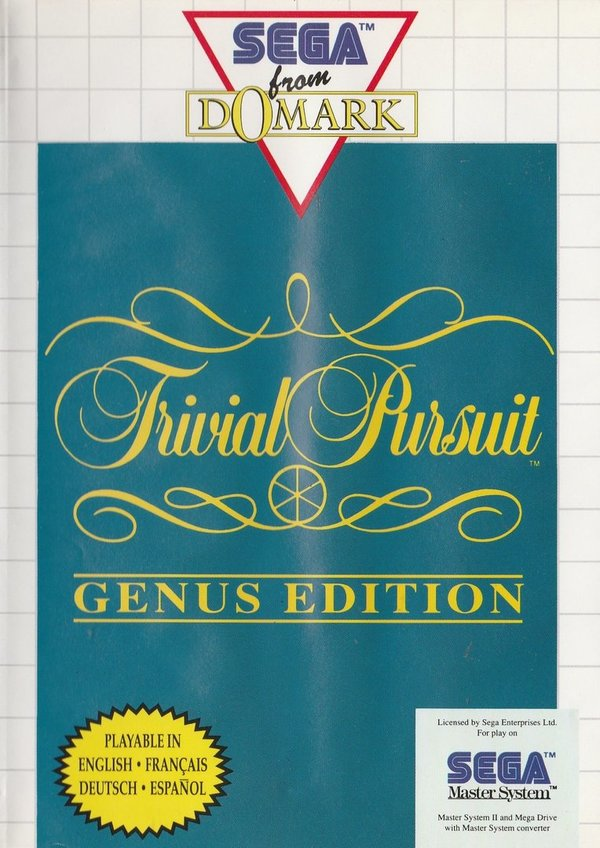 Trivial Pursuit, Genus Edition, SEGA Master System