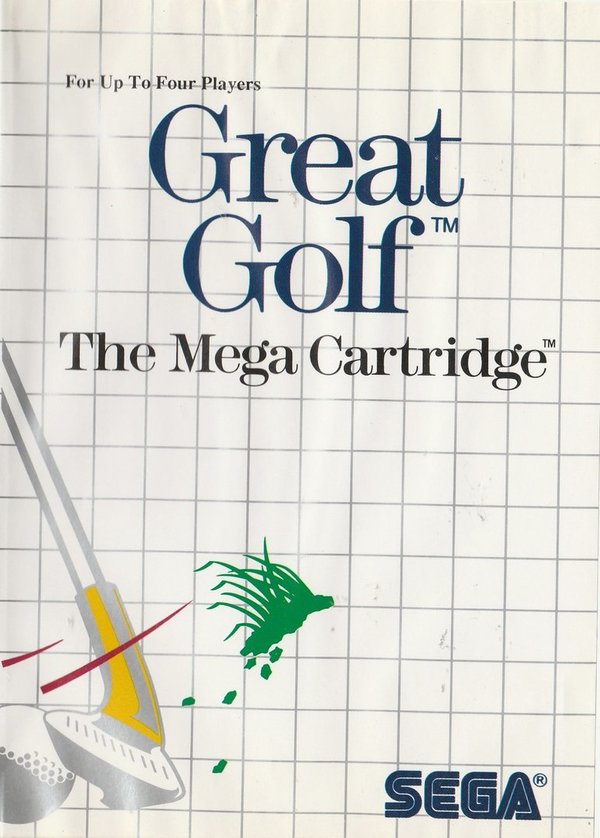 Great Golf, The Nega Cartridge, SEGA Master System