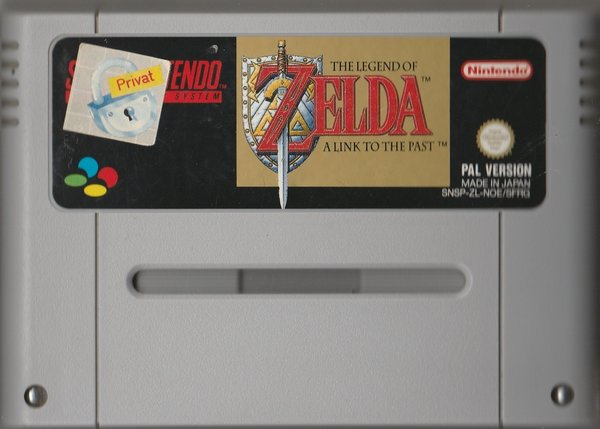 The Legend Of Zelda, A Link To The Past, ( das Modul ), SNES