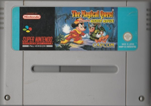 The Magical Quest Starring Mickey Mouse,  SNES