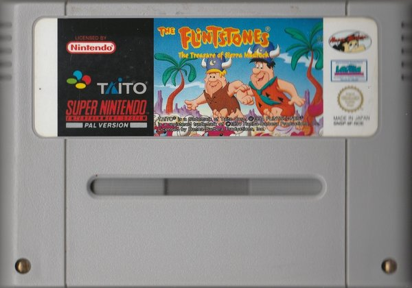 The Flintstones, ( das Modul), SNES