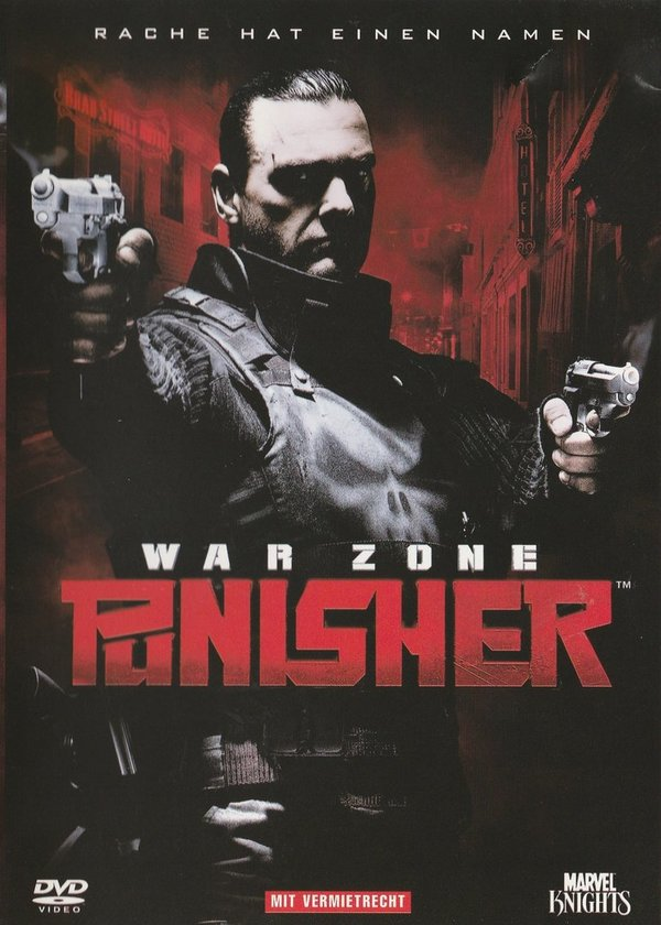 Panisher, War Zone, DVD
