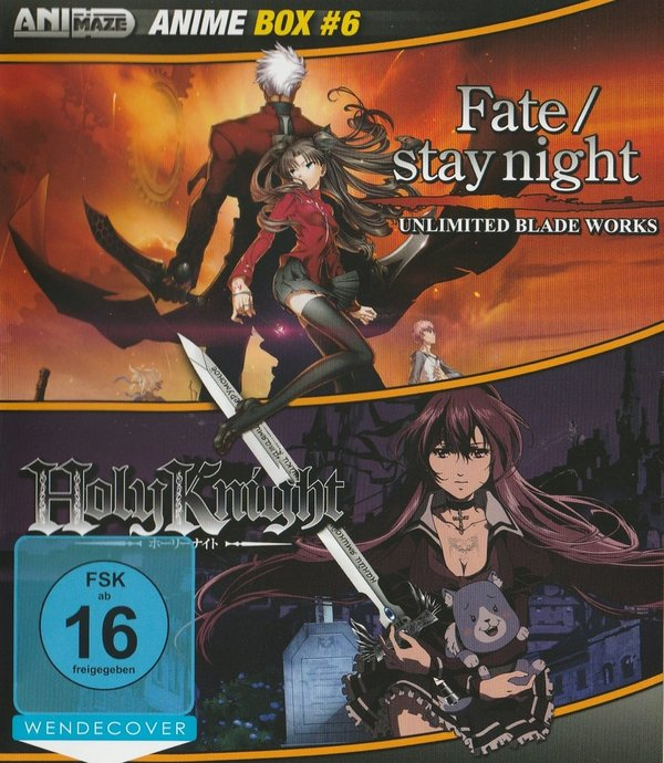 Anime Box, Fate/Stay Night & Holy Knight, Blu-Ray