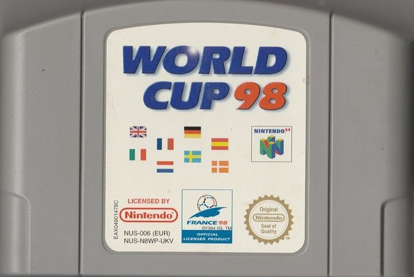 World Cup 98, N64