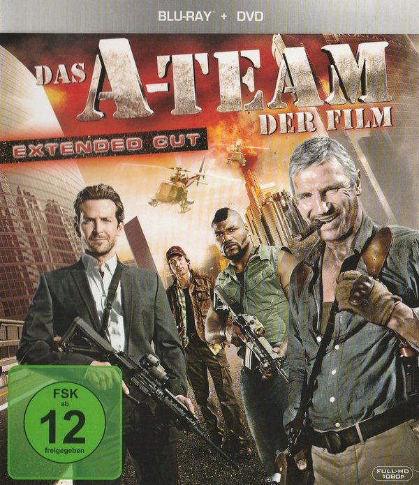 Das A-Team, Der Film, Extended Cut, Blu-ray