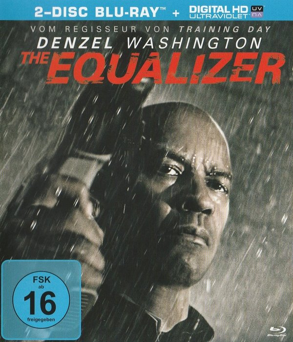 The Equalizer, 2 Disc inkl. Bonus, Blu-ray