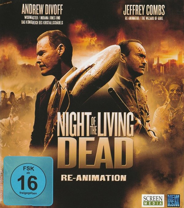 Night of the Living, Dead, Re-Animation, Blu-ray