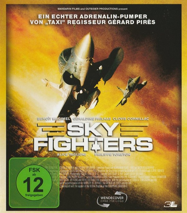 Sky Fighters, Blu-ray