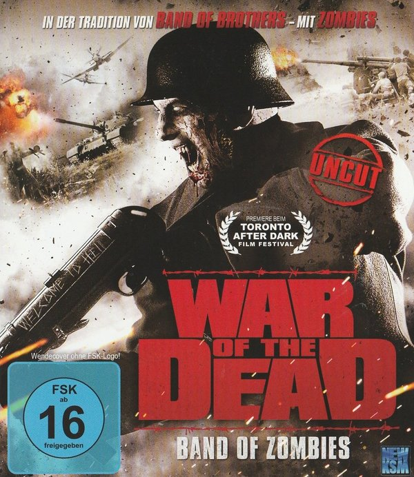 War of the Dead, Band of Zombies. Blu-ray