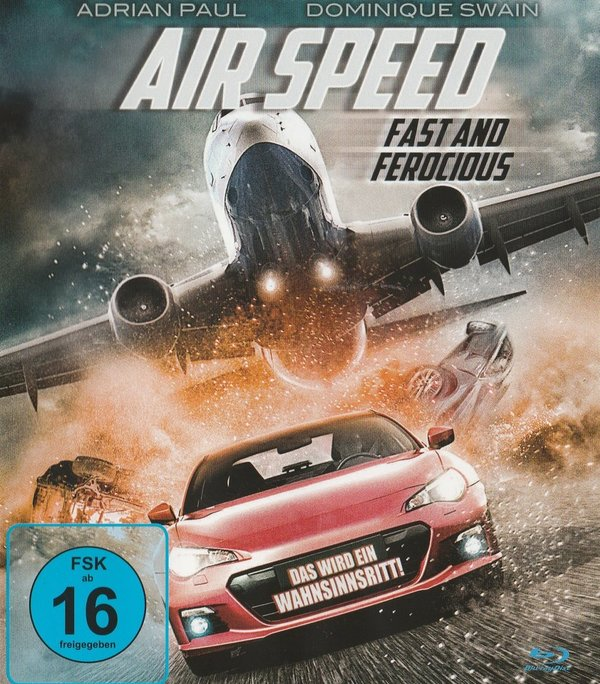 Air Speed, Fast and Ferocious, Blu-ray