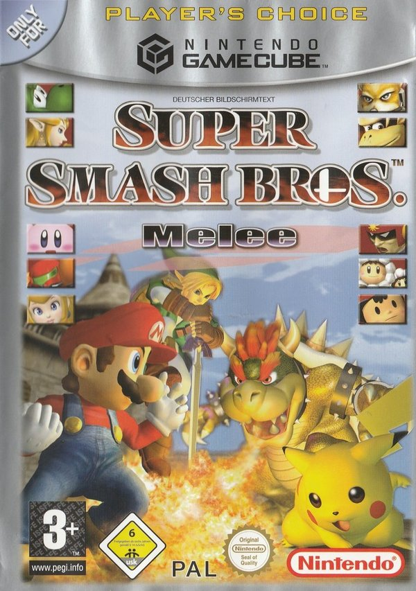Super Smash Bros. Melee ( Player's Choice ),  Cube Cube