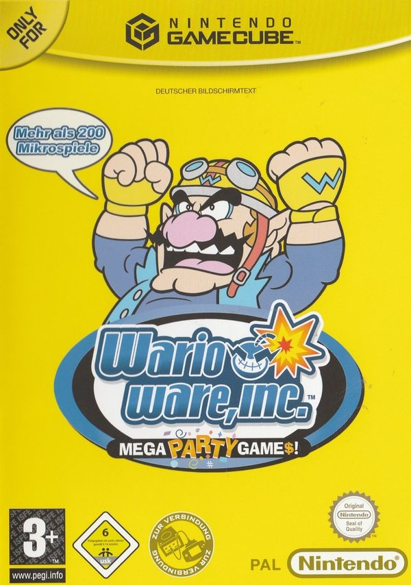 Wario Ware, Inc., Mega Party Games, Game Cube