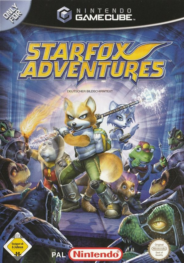 Star Fox Adventures, Game Cube