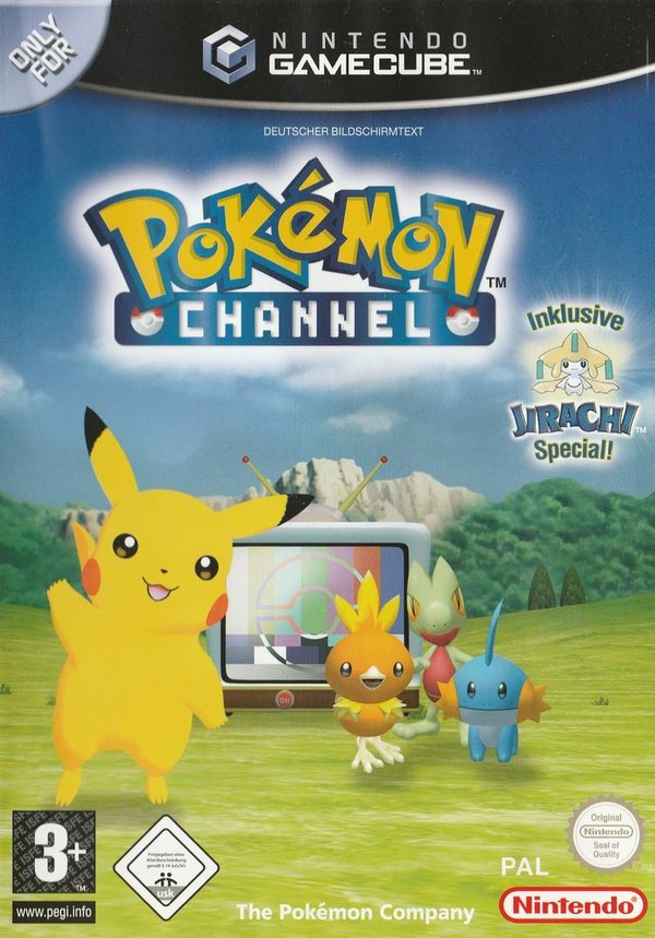 Pokémon Channel, Game Cube