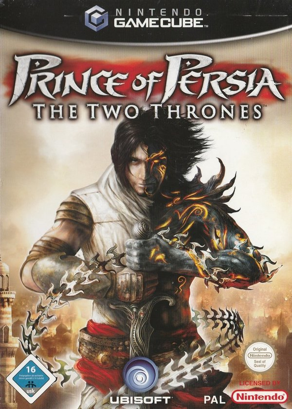 Prince of Persia The Two Thrones, Game Cube