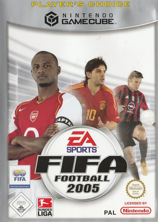 FIFA Football 2005, Player's Choice, Game Cube