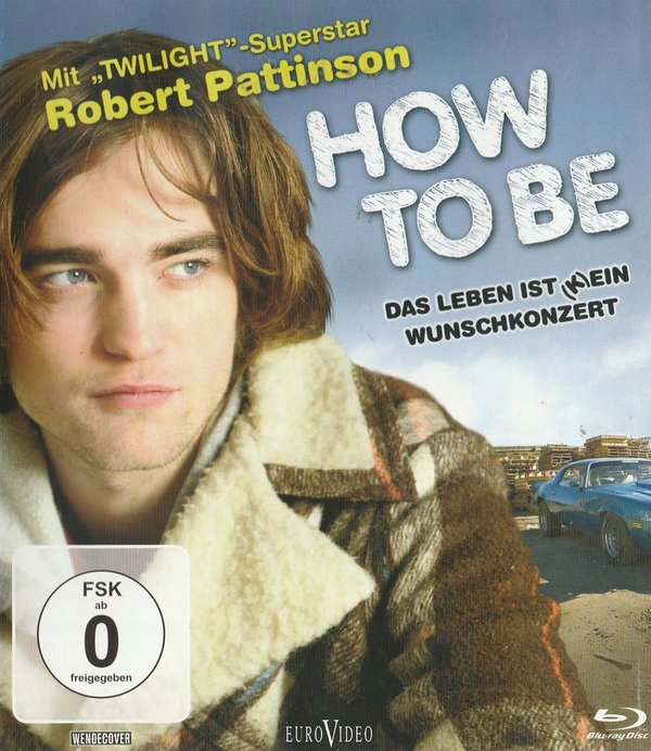 How to Be, Blu-ray